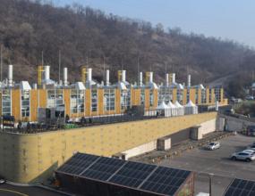 설비용량20MW (2016.12) 약 45,000가구 사용가능 전력 생산  ※ 서울시 최대 규모의 연료전지 활용 분산 전원 구축사례 (서울시 전력자립도 향상)